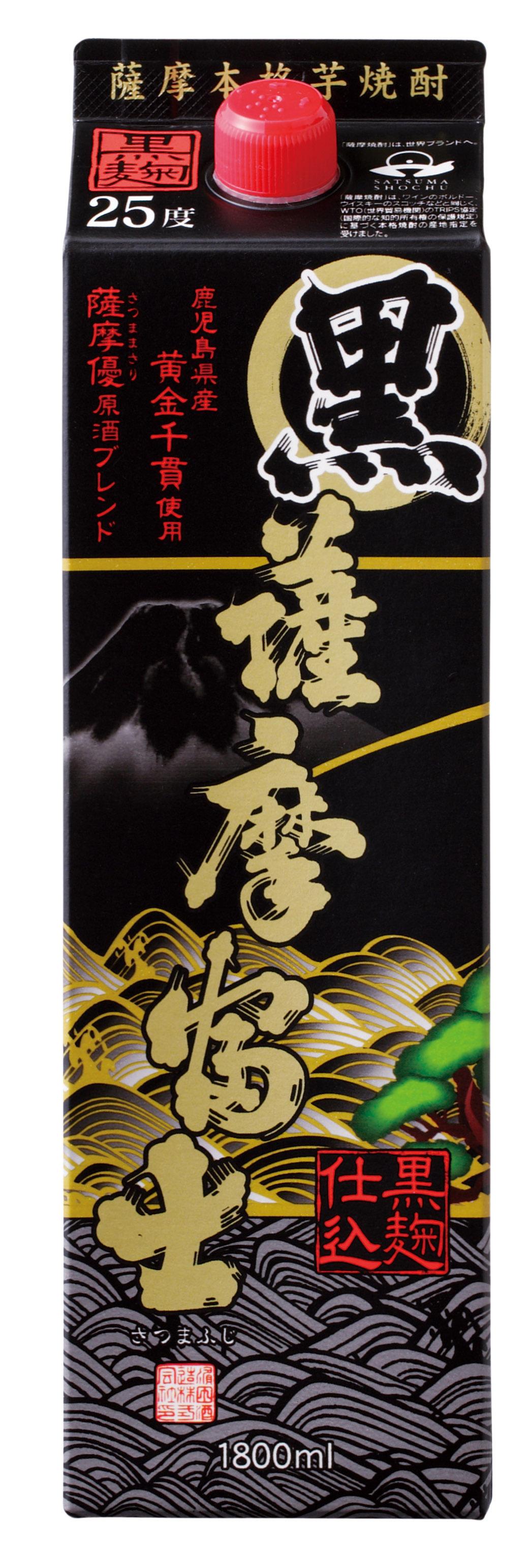 黒薩摩富士 1800ml パック