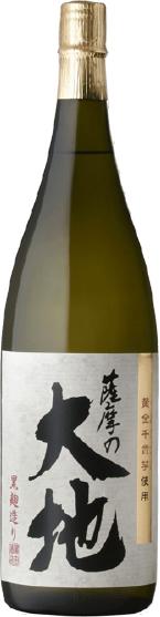 薩摩の大地 1800ml 瓶
