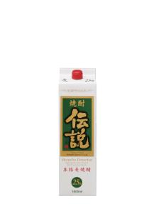 焼酎伝説 1800ml パック