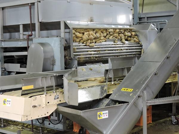 芋 潰す 機械