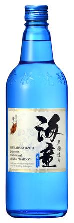 海童 蒼ブルー 25度 720ml瓶(ネック無).jpgのサムネイル画像