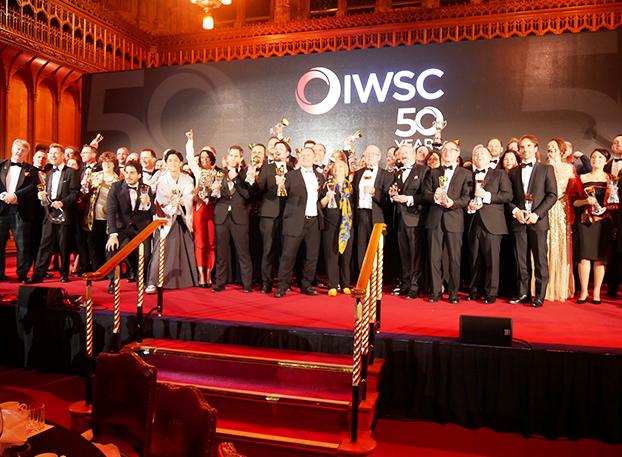 写真:IWSC授賞式の様子